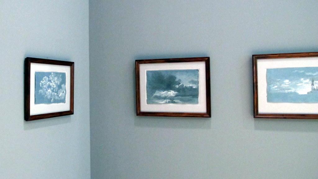 'Wolkenstudien' von Johann Georg von Dillis