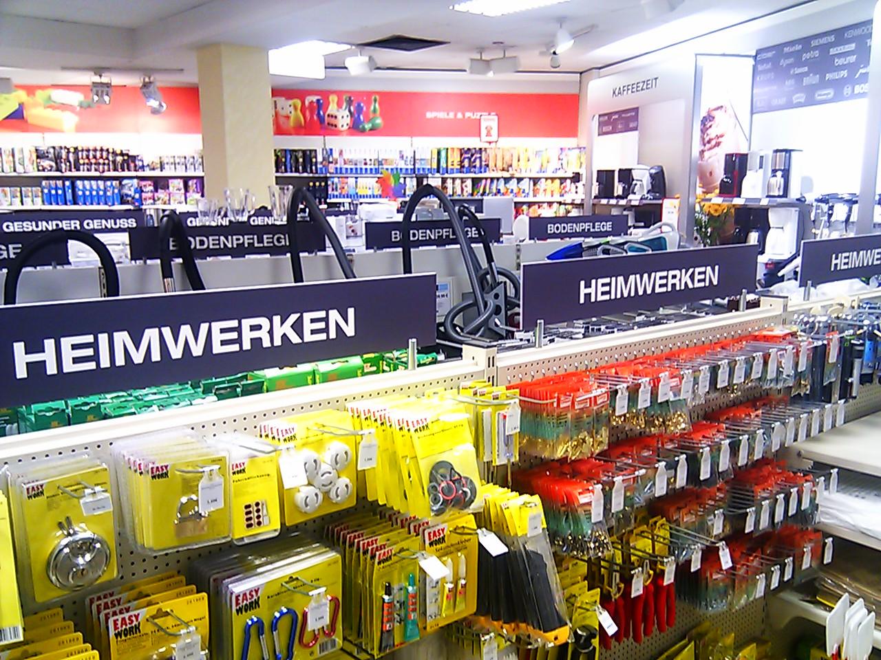 Einkaufen der besonderen Art – Kaufhaus Konrad