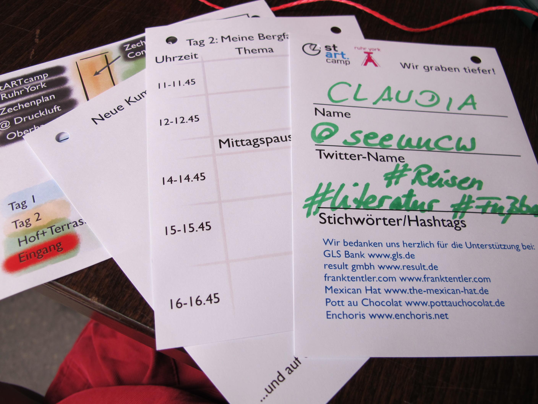 stARTcamp RuhrYork