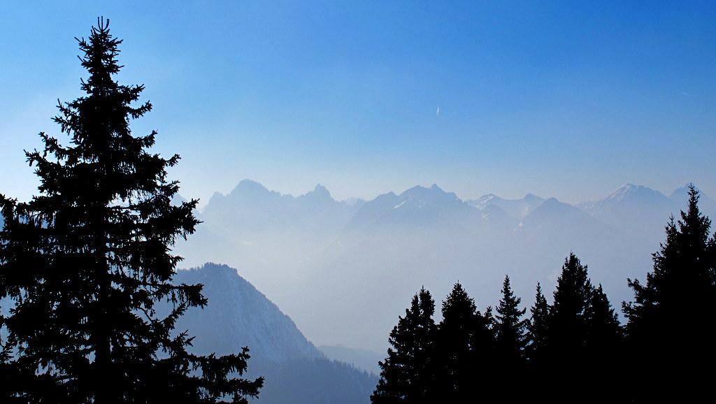Richtung Tannheimer Berge