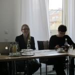 Michelle van der Veen erklärt das Projekt Museum 24-7