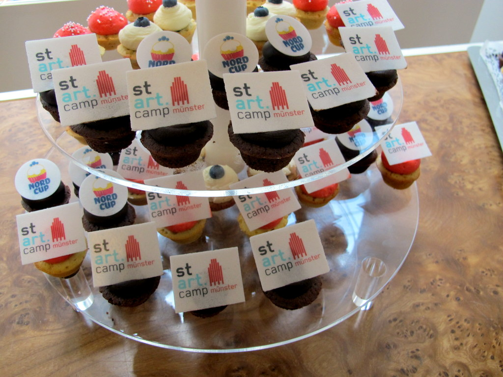 Nach der Anzahl der Tweets und Erwähnungen im Feedback zu urteilen waren die Cupcakes von http://www.nordcup-muenster.de/ unschlagbarer kulinarischer Höhepunkt
