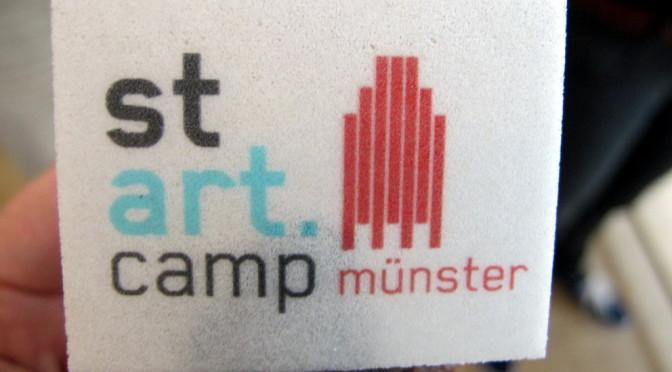stARTcamp Münster – das erste!