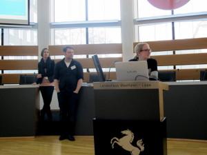 Sarah Grossmann, Jan Graefe, Michelle van der Veen