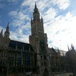 München grüßt mit bayerischem Himmel