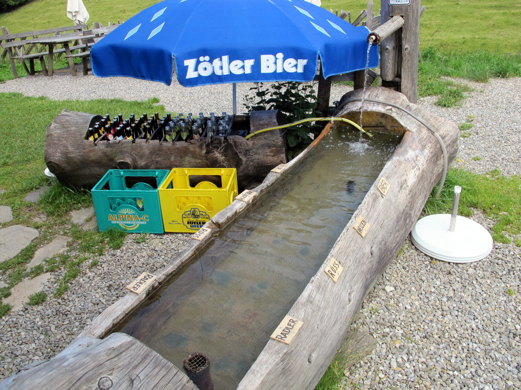 Ruhetag Getränke-Versorgung mit Overflow-Kühlwanne ;-) Toller Service!