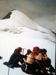 1984 das Zuckerhütl noch mit seiner Namengebenden weißen Kappe