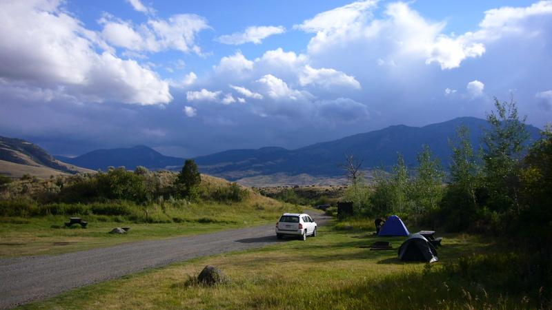 Nördlich des Yellowstone NP