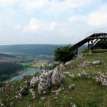 Drachenflugschanze hoch über der Altmühl