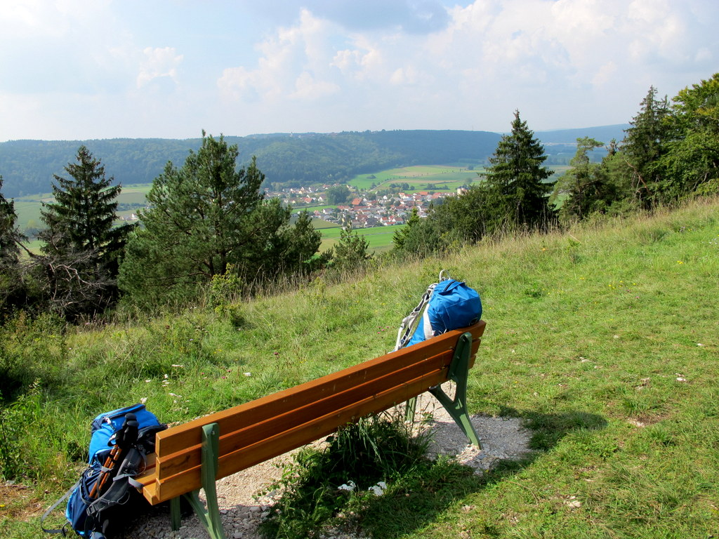 Pausenplatz mit Panoramablick