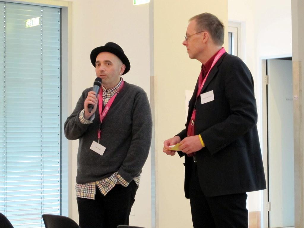Die beiden 'Rabbits' ;-) Frank Tentler und Christian Henner-Fehr