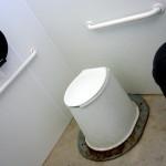 Nicht so schick, aber mit 'toilet paper'
