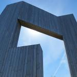 Windklang Skulptur auf dem Erbeskopf