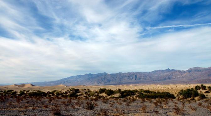 Death Valley sehen und … das Leben genießen