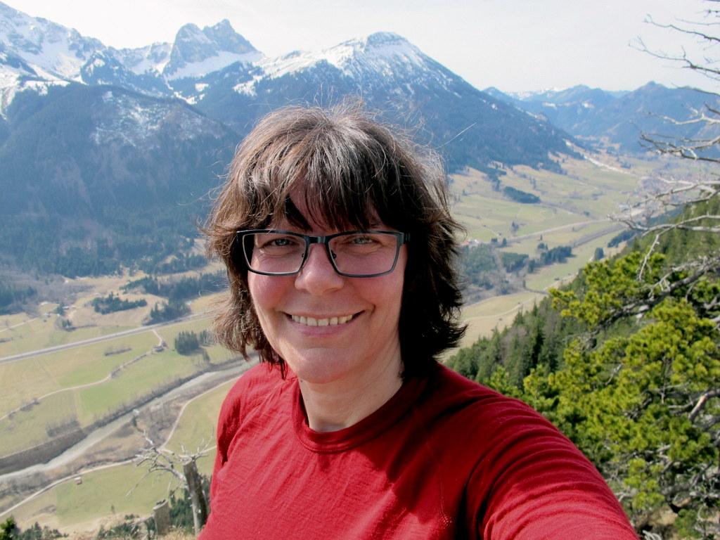 Schönstes Geburtstagsgeschenk von mir für mich - eine kleine Tour von Pfronten nach Füssen