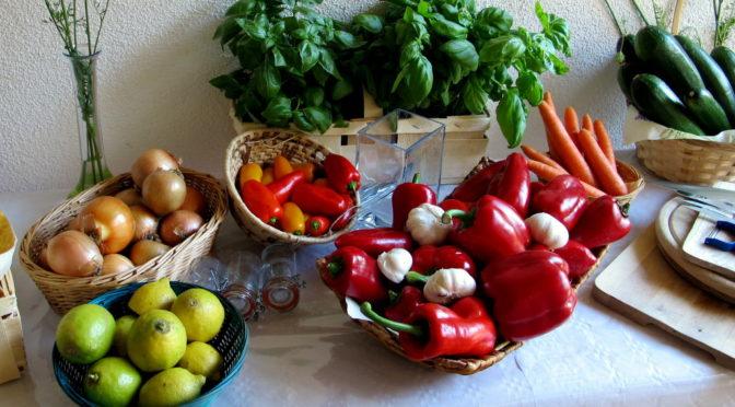 Projekt: Ernährung umstellen