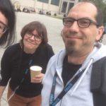 Selfie von Wibke mit Fabian - der Findelkrake fehlt!