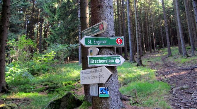 Bayerischer Wald: Wandern von St. Englmar nach Degenberg