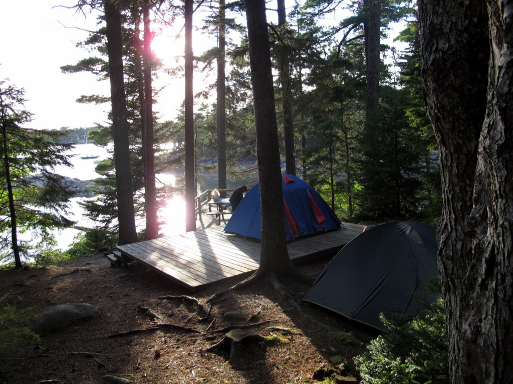 Mount Desert Campground Acadia NP