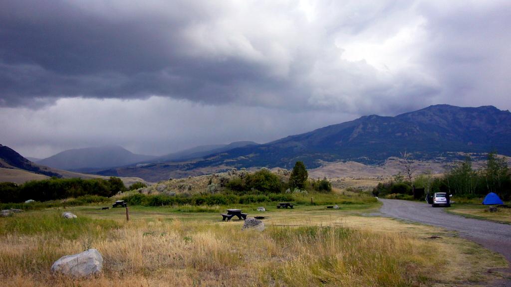 Campingplatz in Gardiner, am nördlichen Ausgang des Yellowstone NP.
