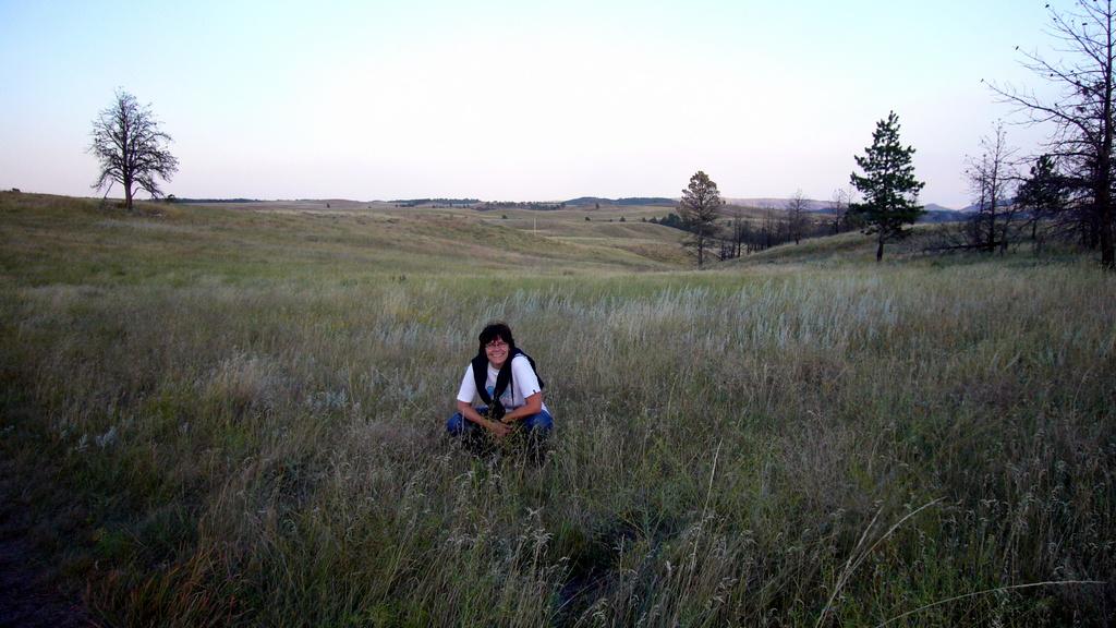 Genau, hier in der luftigen Weite des Wind Cave NP ist mein Blogbild entstanden :-)
