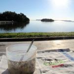 Frühstück mit Aussicht in Flamingo Everglades NP