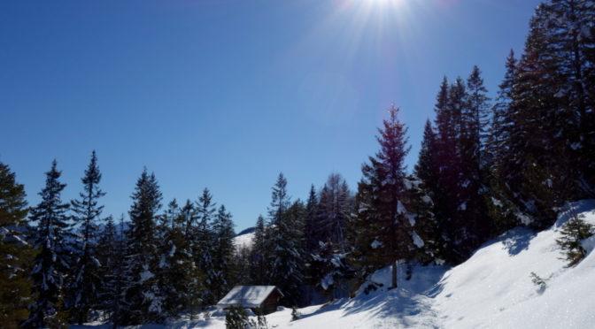 Klais – Hoher Kranzberg – Mittenwald, eine Winterwanderung