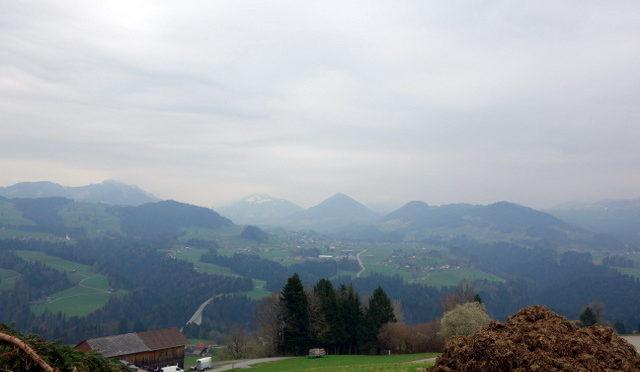 Maximiliansweg – Bregenz bis Lingenau, Etappen 2 und 3