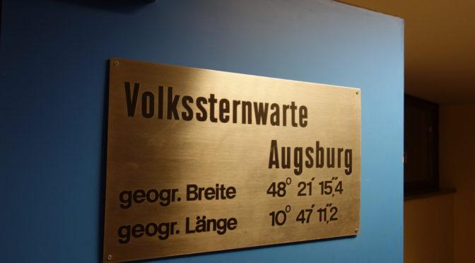 Sternwarte Diedorf – ein kleiner lohnender Ausflug