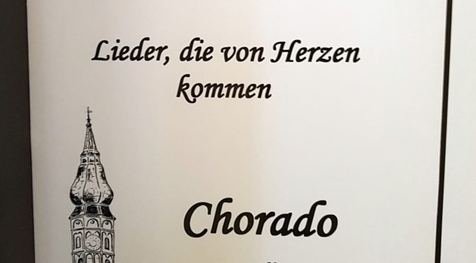 Chorwoche im Bayerischen Wald 2018 mit Chorado
