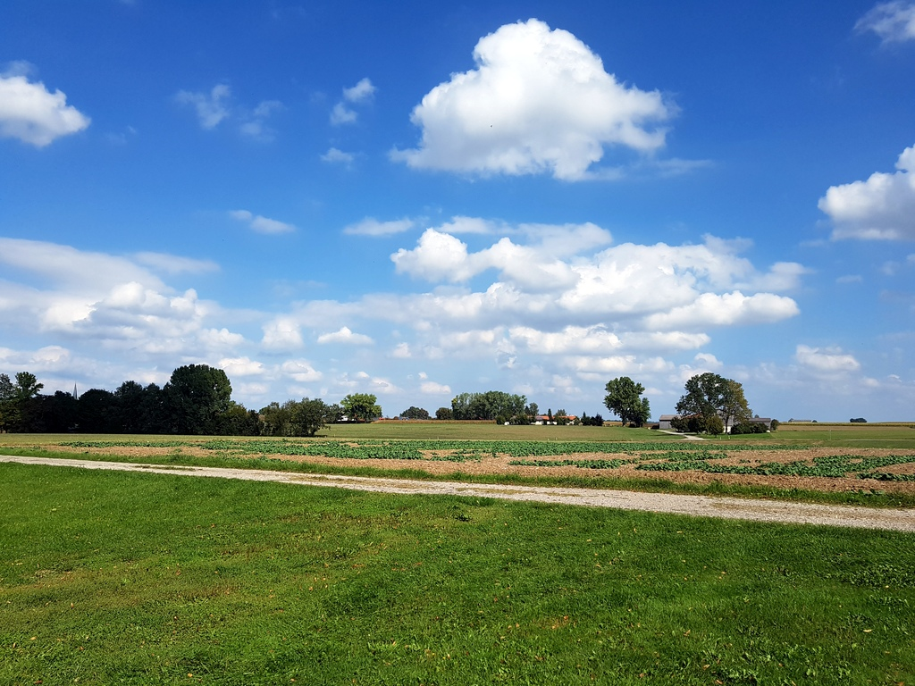 Landschaft bei Schmiechen