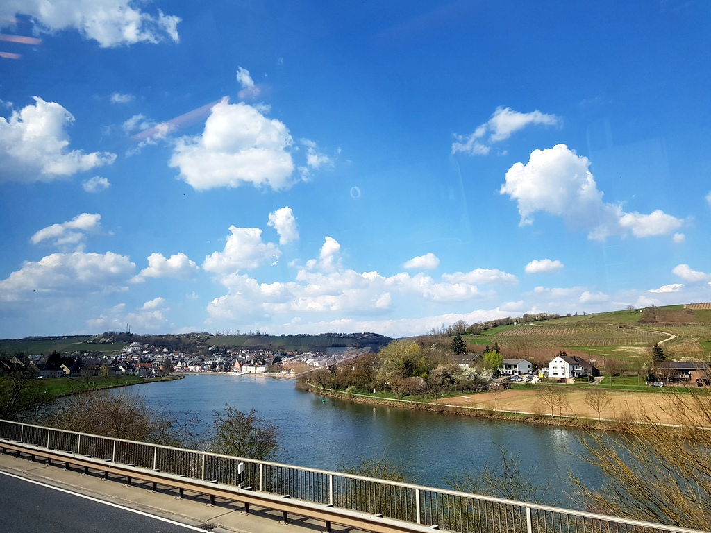 Blick auf Mosel bei Perl