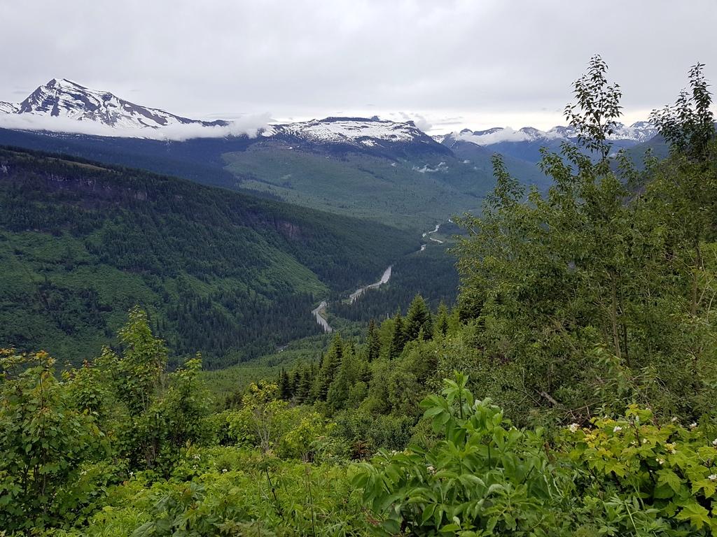 durch den Glacier NP