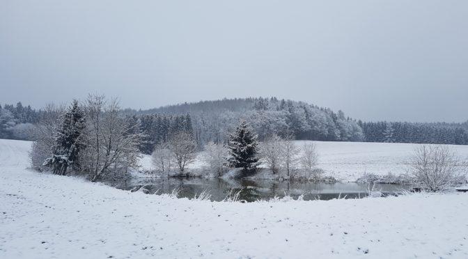 In kleinen Fluchten und Ausflügen durch den Winter